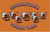 Medium georgetown turkey trot logo